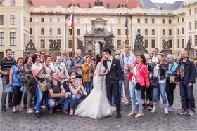徕丽摄影| 海外欧式婚纱照 幸福新娘