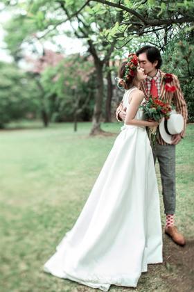 【进部旅拍】户外清新唯美婚纱照主题——分外动人