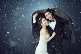 【进部旅拍】唯美雪景主题婚纱照套系
