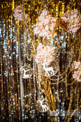贵族婚礼策划-唯美浪漫紫色系婚礼《小鹿的花之林》