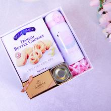 挖沙实用保温杯婚礼伴手礼盒套装永生花结婚回礼歌帝梵巧克喜糖盒