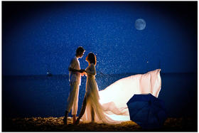 唯美婚纱照——岛多多 [神仙半岛]月光爱人