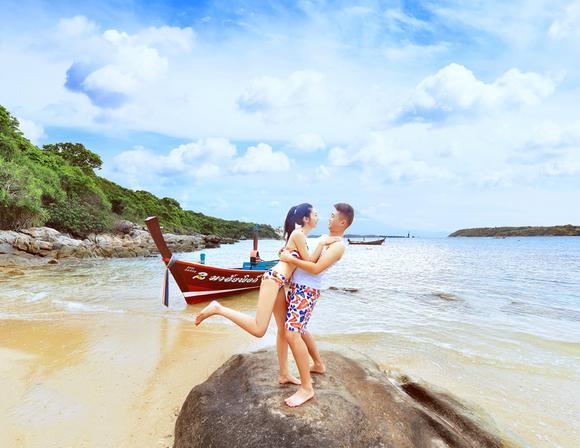 性感婚纱照——岛多多 [罗曼礁石]泡沫之夏