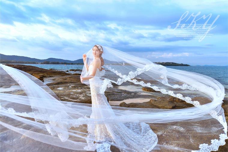 海景婚纱照——岛多多 普吉罗曼岛客照:天空