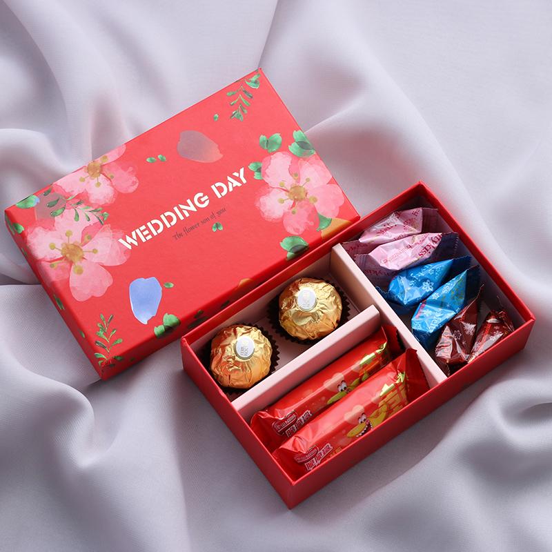 结婚喜糖礼盒成品
