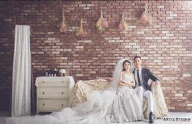 【韩式婚纱照】世间最理想的爱情,当然是两颗同心,一生相濡以沫