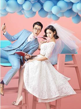【韩式婚纱照】美丽订制摄影---甜蜜爱恋