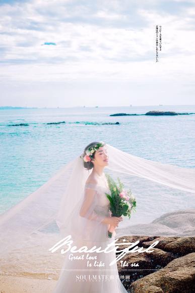 广州苏美映画婚纱摄影工作室 唯美客片分享