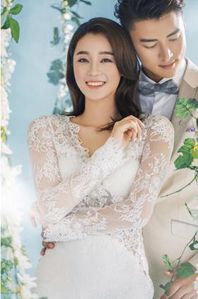 【小清新婚纱照】美丽订制婚纱摄影---温情似水
