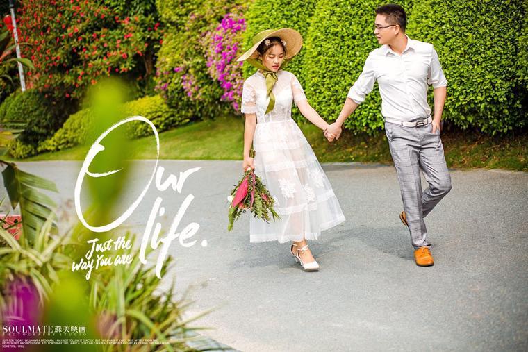 广州苏美映画婚纱摄影工作室 清新客片分享
