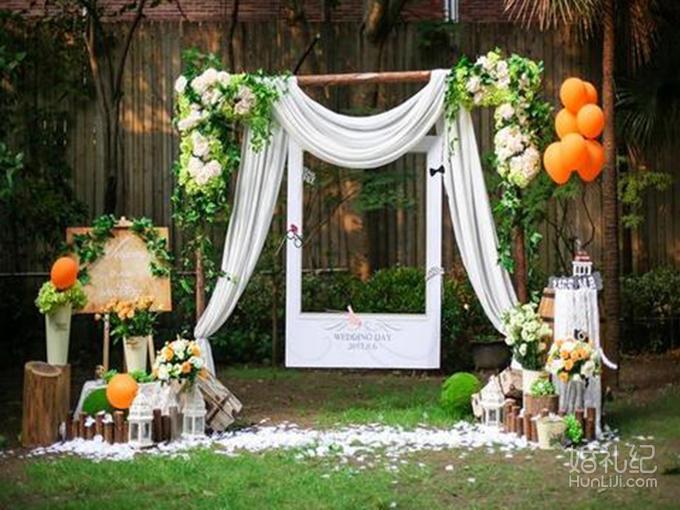 室外婚礼t台设计图展示
