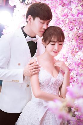 花海婚纱照——ANNI客照分享《三生三世十里桃花》