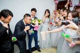 【悦摄影】婚礼跟拍——求水山酒店2