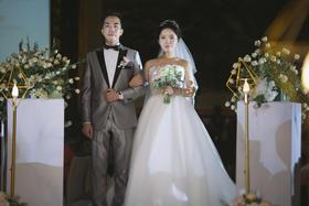 【唯美婚礼跟拍】缘分在第一次遇见时开始