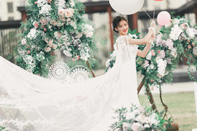 Little fresh outdoor wed唯美婚礼跟拍
