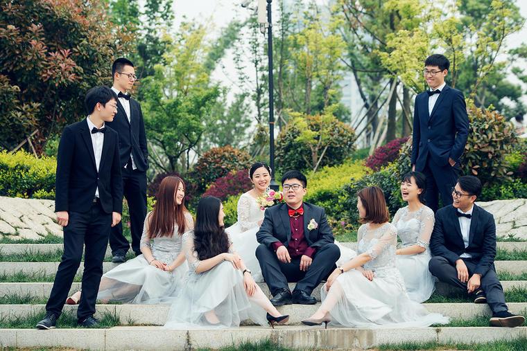 追光影像婚礼跟拍总监挡单机位