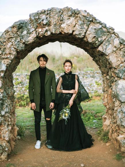 【东颂视觉全球旅拍--丽江站】黑色礼服婚纱照