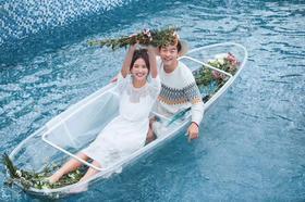 如果爱婚纱摄影【每日客照】小清新婚纱照