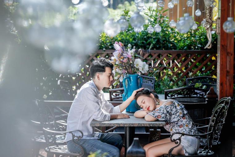 【韩式婚纱照】如果你是一场梦 那么我愿意拥抱整个的夜