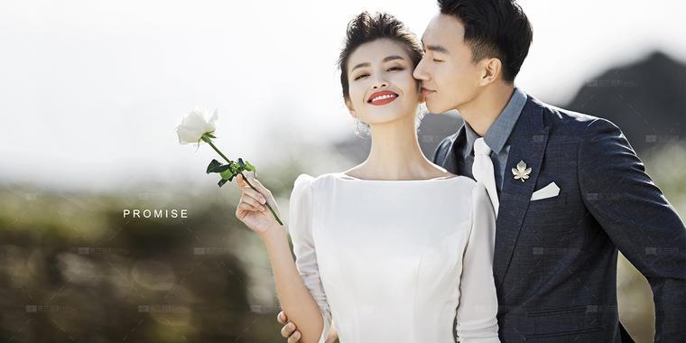 依兰大牌简约时尚婚纱照样片——樊爱珂莉