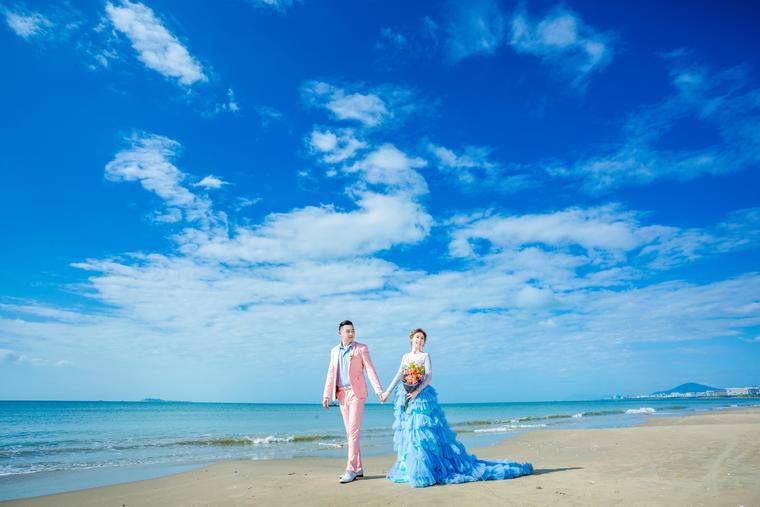 三亚苏苏丽娅婚纱摄影【客片分享】