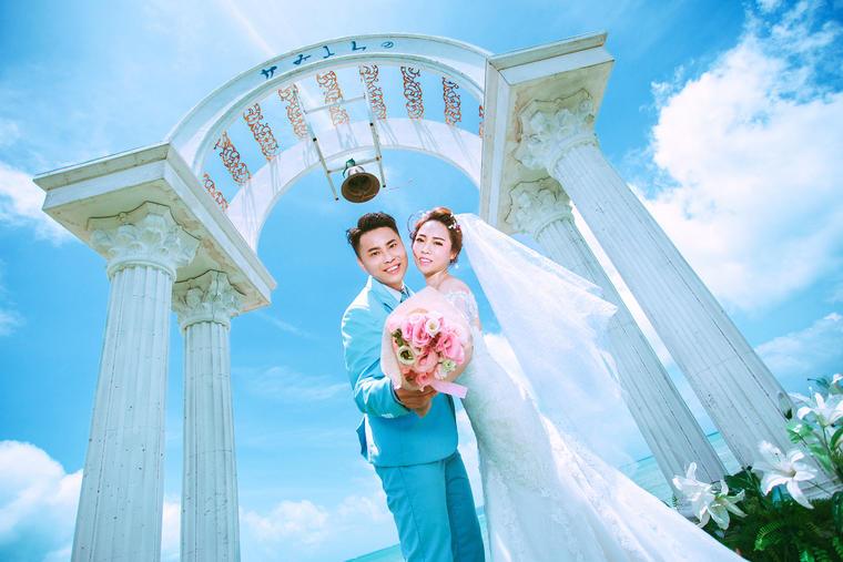 提拉米苏环球旅拍【三亚站婚纱摄影】刘裕平   熊丹