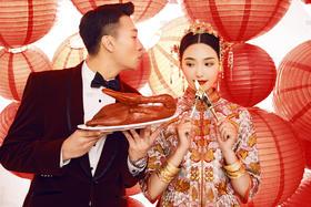 【中式复古婚纱照】依兰最新秀禾样片——锦绣未央