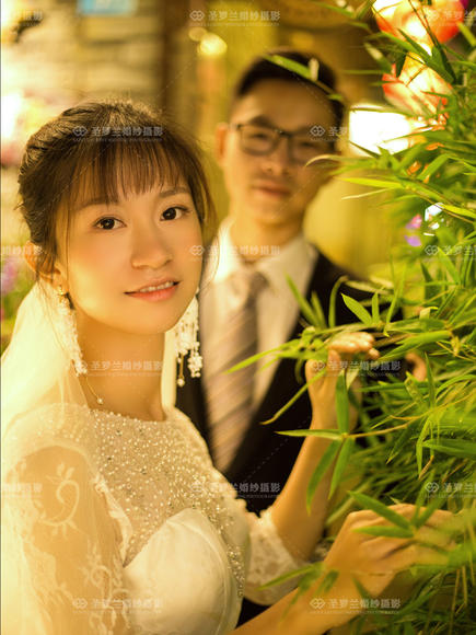【圣罗兰婚纱摄影】一月客片欣赏第四周