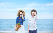 【济南唯恋高端婚纱摄影】海景照片展示