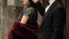 上海滩婚纱照复古走红 手推波搭配3套旗袍温婉满分