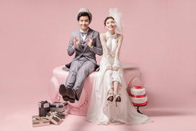 幸福时光时尚婚纱摄影【素色年华】
