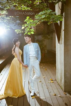 【台湾旅拍 遇见幸福】小清新婚纱照 客片分享