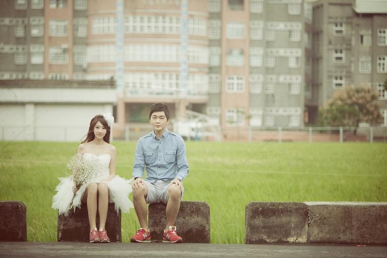【台湾旅拍 遇见幸福】唯美婚纱客片分享