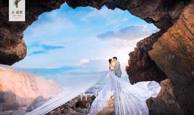 古摄影『青岛站』韩式婚纱客片欣赏:送给【张先生&周女士】