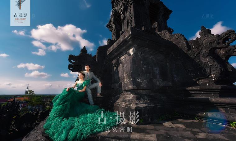 古摄影『巴厘站』韩式客片欣赏:送给【陈先生&黎女士】