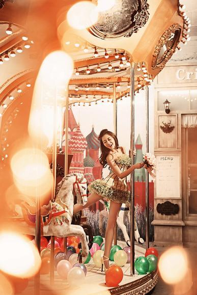 石狮纽约★纽约婚纱摄影【甜蜜街拍】