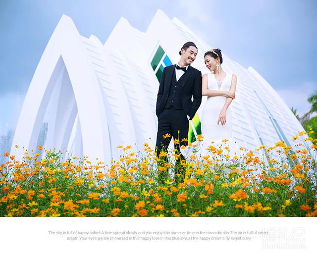5A天涯海角+3天2晚别墅+MV+全新婚纱+包邮