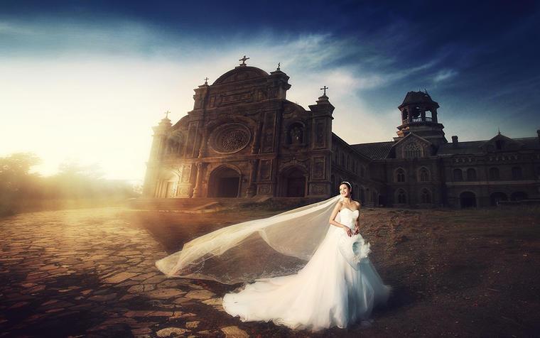 【唯美婚纱摄影】梦幻古堡--遇见最爱的你