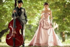 罗曼庭森系婚纱摄影|笙歌锦华