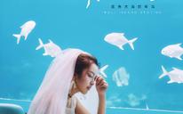 #海底餐厅#—时尚婚纱客片欣赏~