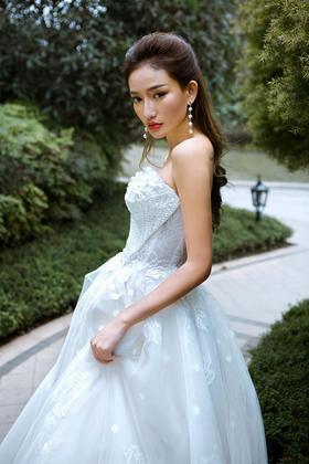 【GLADYS】公主水晶出门纱