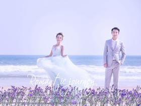 幸福V摄影【罗曼蒂克的旅行】花海婚纱摄影