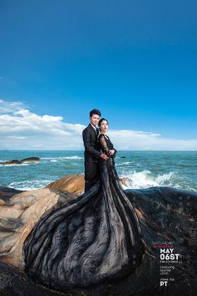 拍客视觉全球旅拍【厦门站】海景婚纱照 客片欣赏