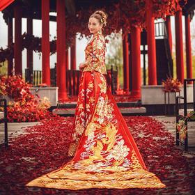 新款中式礼服 敬酒服 结婚嫁衣
