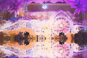 【小鹿的花之林】唯美浪漫紫色系婚礼