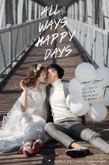 HAPPINESSTREE-告白气球 文艺婚纱照