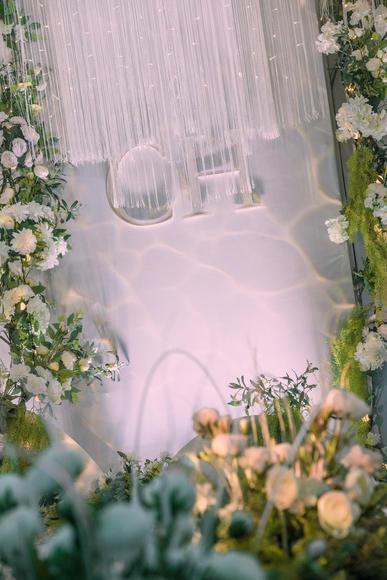 轻奢风-清新绿色主题半定制婚礼