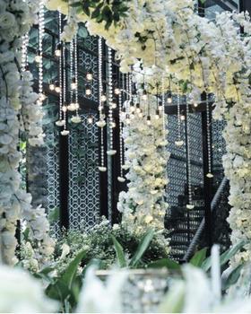 「清新森系婚礼」温室的幸福培育