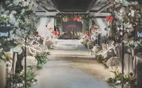 森系创意主题婚礼+爱情最初的信仰  正如火烈鸟那样