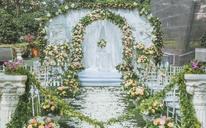 户外草坪主题婚礼   《蜜桃婚礼》